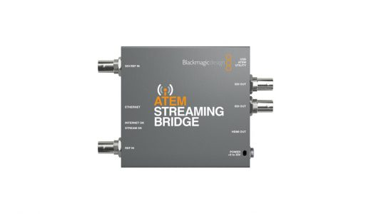 ATEM Streaming Bridge #2  ネットワーク接続をためす。