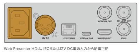 Web Presenter HD の設置